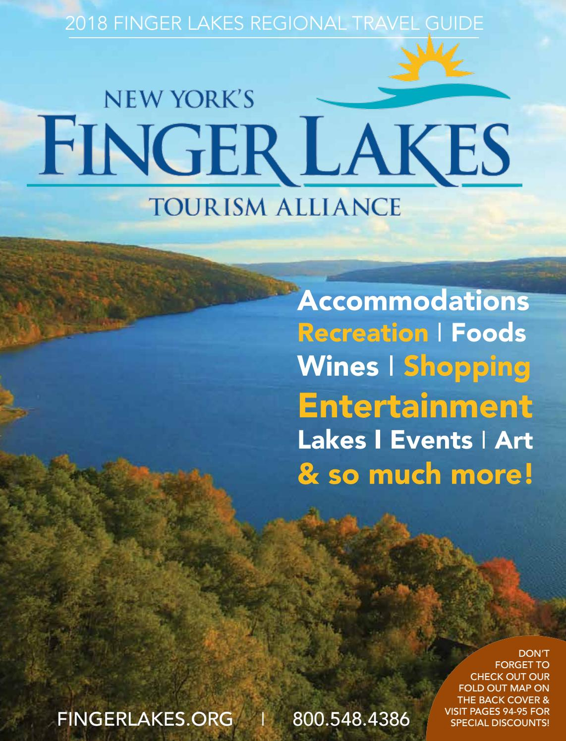 2018 Finger Lakes Regional Travel Guide by Jessica Robideau - issuu