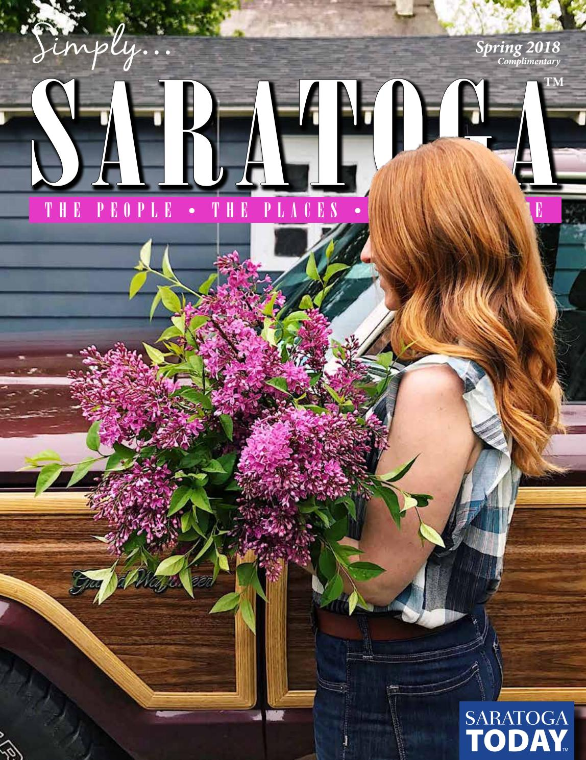 Simply Saratoga Spring 2018 By Saratoga Today Issuu
