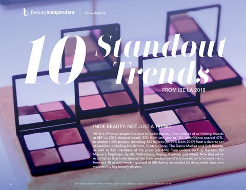 Page 10 of Beauty Independent Trend Report
