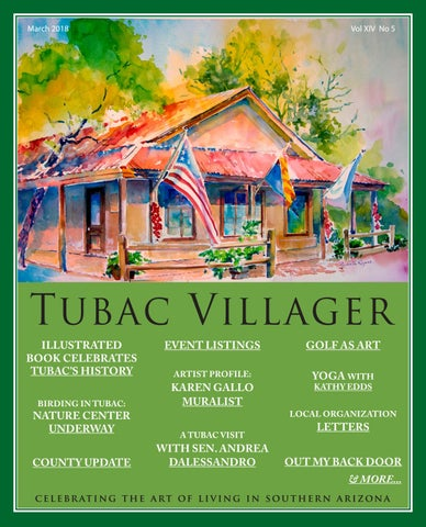 Tubac Villager March By Tubac Villager Issuu - Tubac az car show 2018