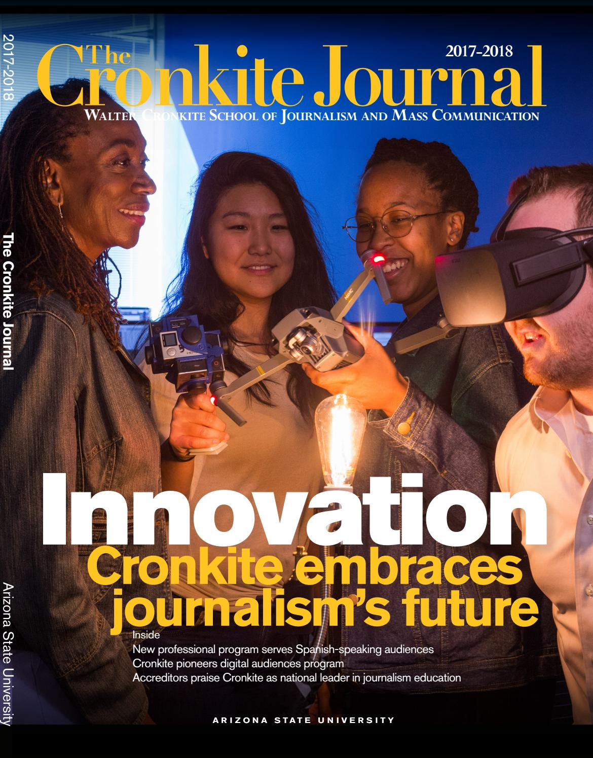 208ccc1ac30 Journal17 18 by Walter Cronkite School of Journalism and Mass ...
