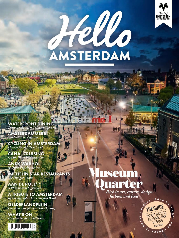 Hello Amsterdam 18 Jul Aug 2017 By Martijn Meyer Issuu