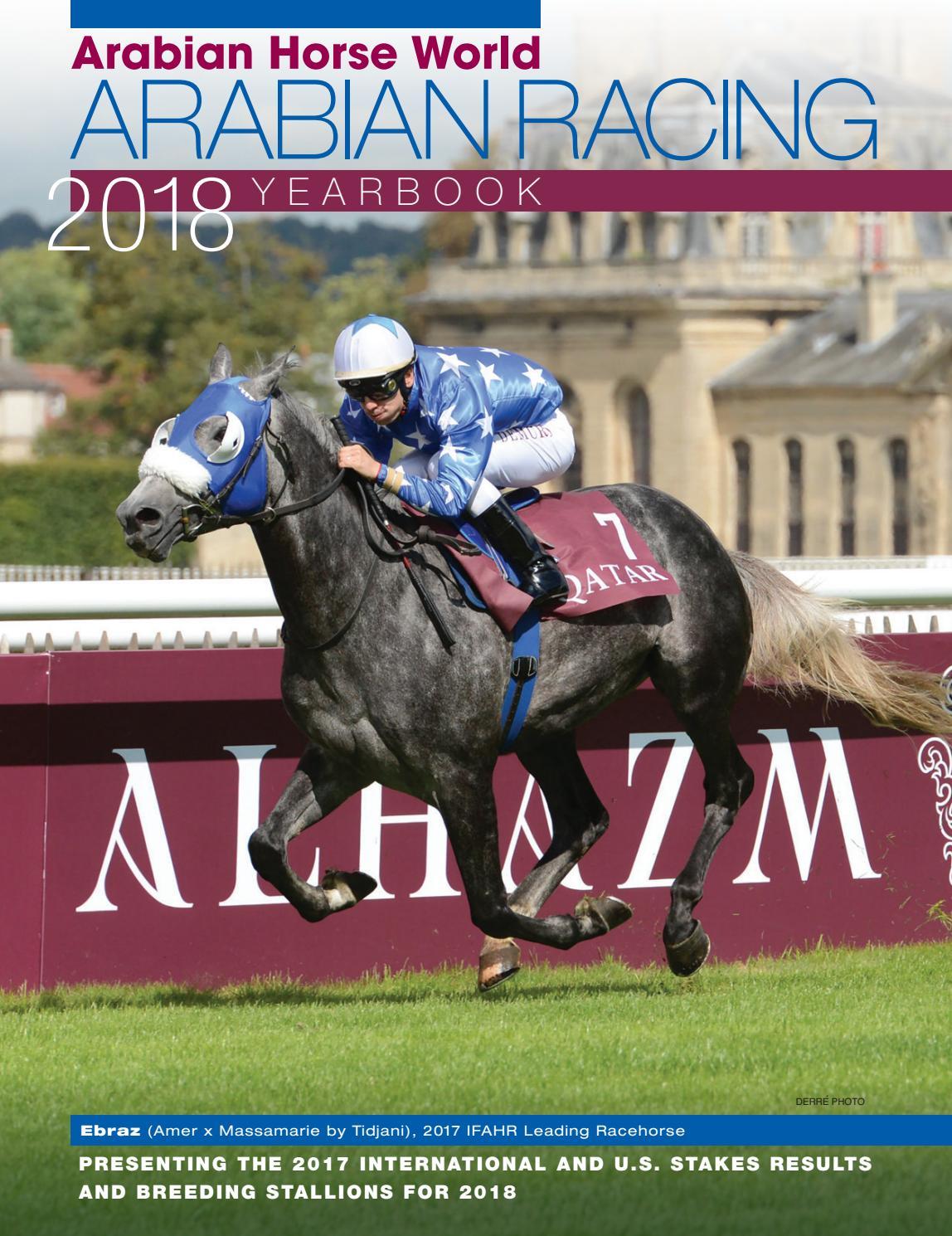 6th Annual Arabian Racing Yearbook By Arabian Horse World Issuu