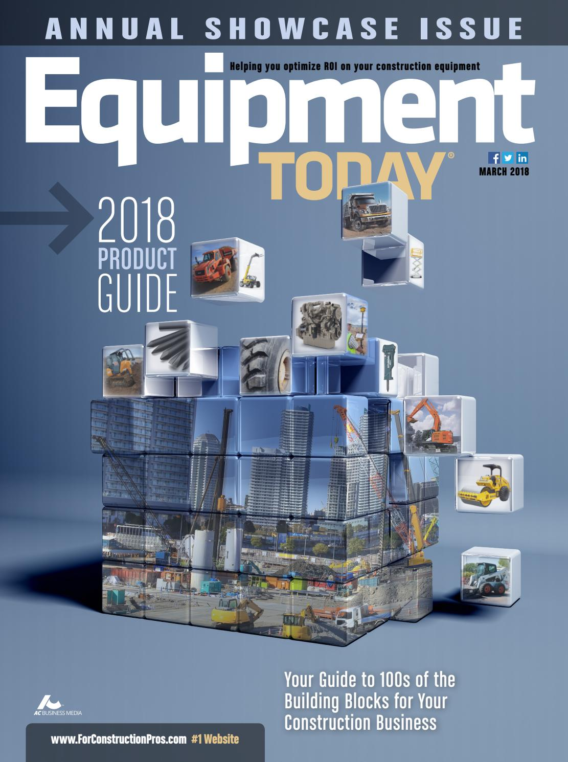 Equipment Today March 2018 By Forconstructionproscom Issuu Rain Sound Effect Generator 4060