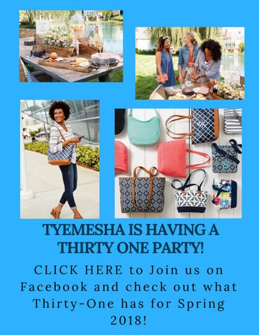 Tyemesha S Thirty One Party Invitation By Heather Quillen Issuu