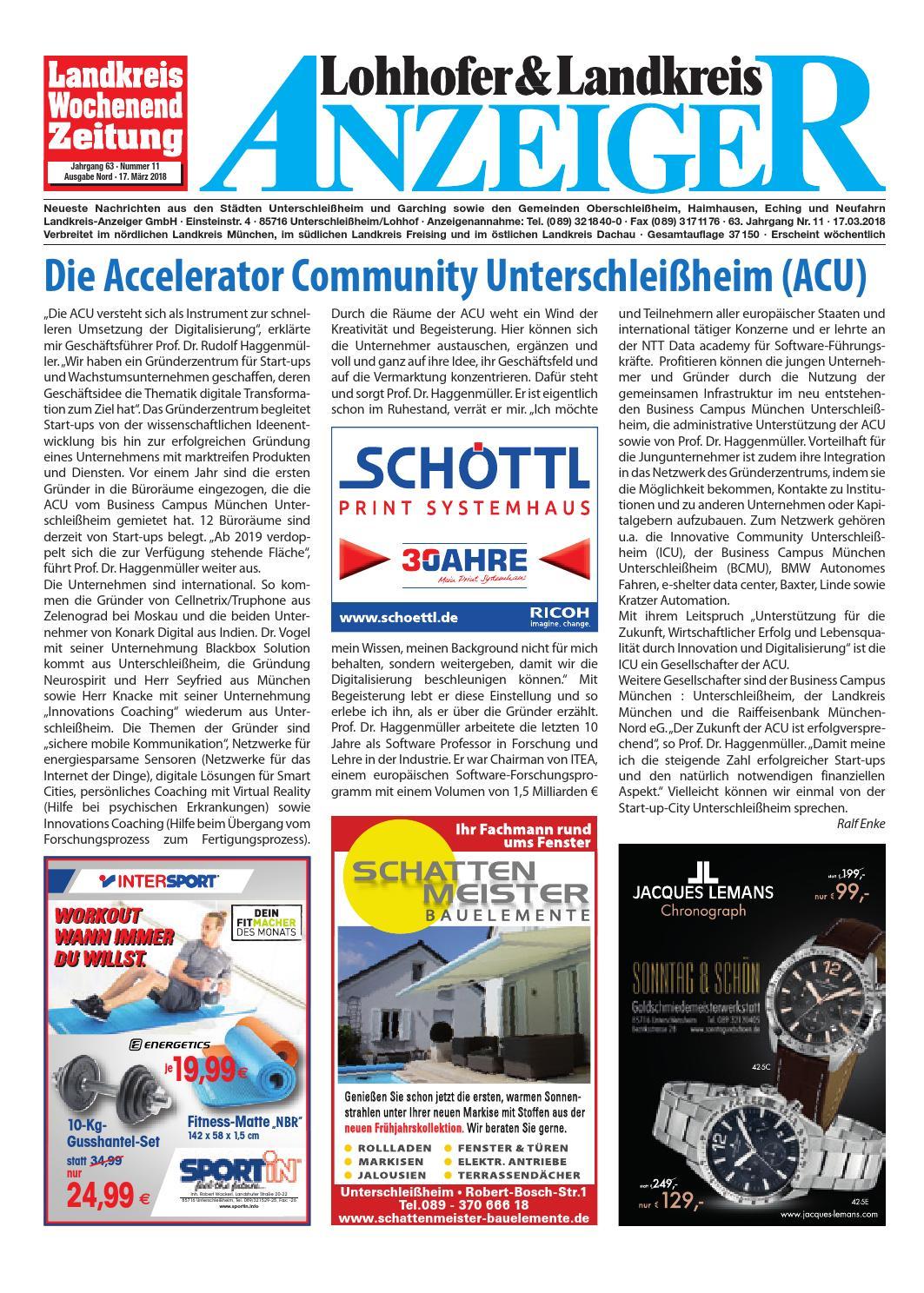 Lohhofer & Landkreis Anzeiger 1118 by Zimmermann GmbH Druck & Verlag - issuu