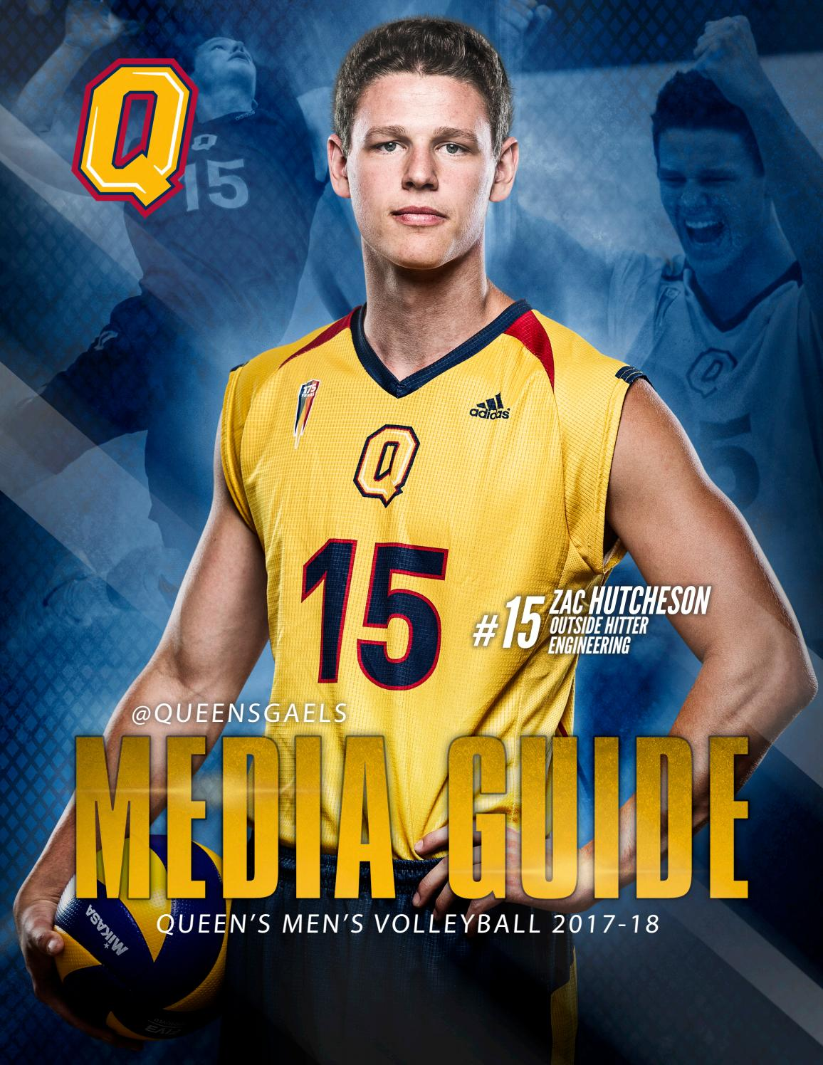2017-18 U SPORTS Queen's Men's Volleyball Media Guide by