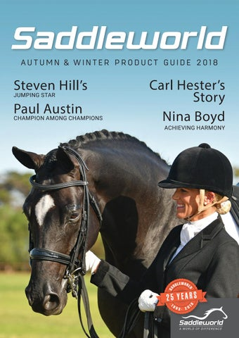 Saddleworld Product Guide Autumn & Winter by Saddleworld - issuu