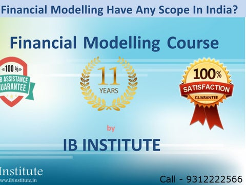 Advanced Financial Modelling Courses | Best Financial