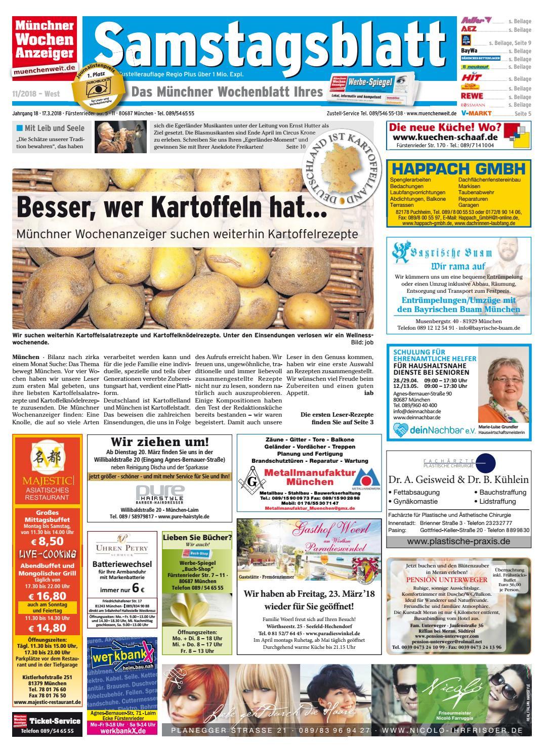 KW 11 2018 by Wochenanzeiger Me n GmbH issuu