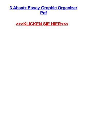 3 absatz essay graphic organizer pdf by danielwlxj - issuu