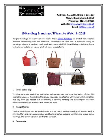 c69106aaf92a4b Chiswick-Auctions-Designer-Handbags-and-Fashion-September-2018 by ...