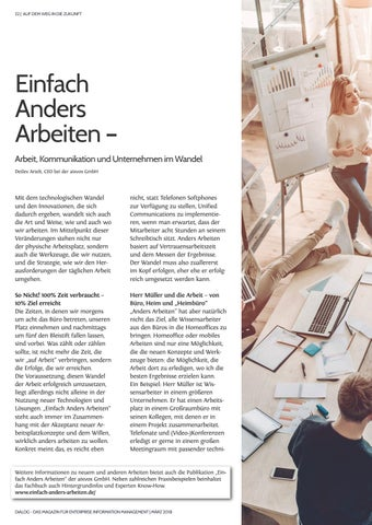 Page 22 of Einfach Anders Arbeiten