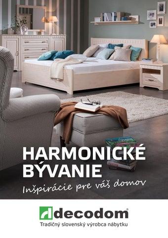 a448ea81ddd0 Harmonické bývanie by Decodom - Slovenský výrobca nábytku - issuu