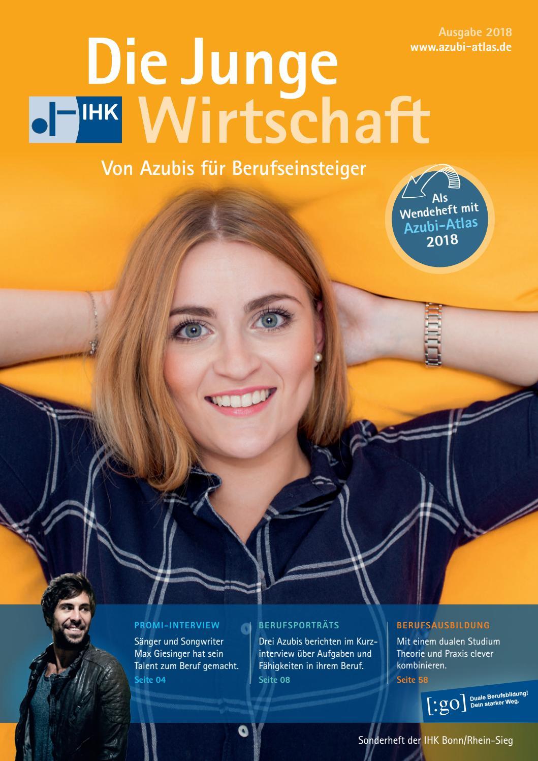 IHK.Die Junge Wirtschaft Bonn/Rhein-Sieg 2018/19 by Patrick Schaab - issuu