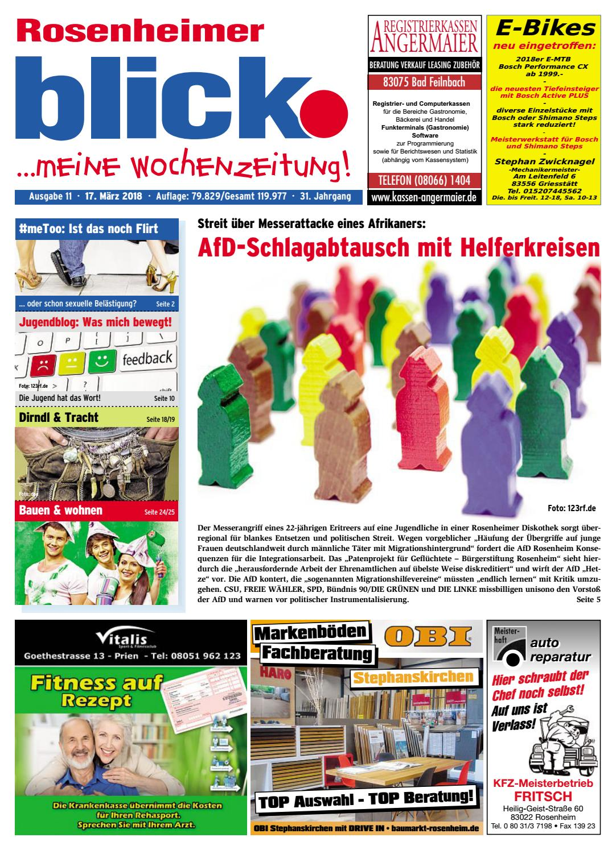 Rosenheimer Blick Ausgabe 11 2018 By Blickpunkt Verlag Issuu