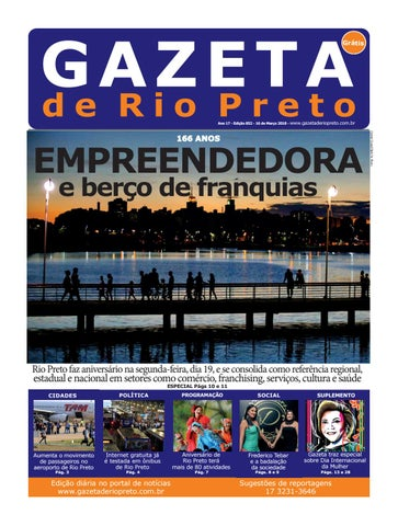 Gazeta de Rio Preto - 16 03 2018 by Social Light - issuu 5f450c27b4f