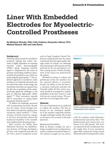 Page 19 of Liner with Embedded Electrodes for Myoelectric-Controlled Prostheses