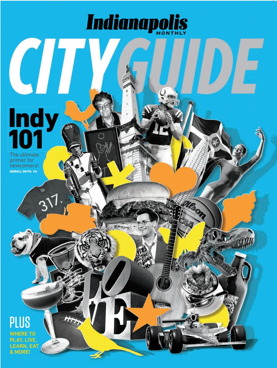 2018 Indianapolis Monthly City Guide - Tucker edition by