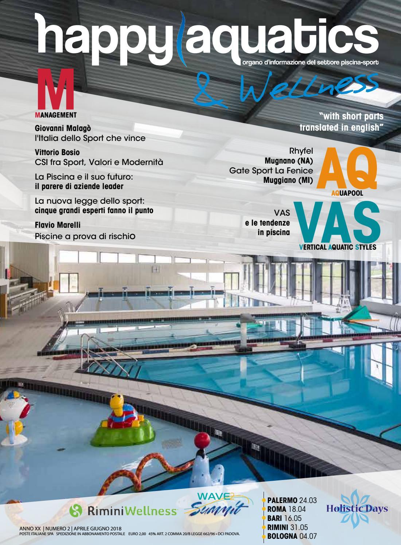 Happy Aquatics Wellness N 2 Anno 2018 Ita By Happy Aquatics Wellness Issuu