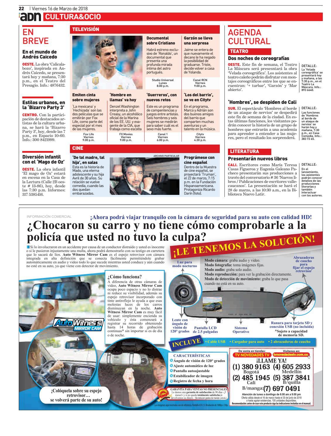 ADN Cali 16 de marzo by diarioadn.co - issuu