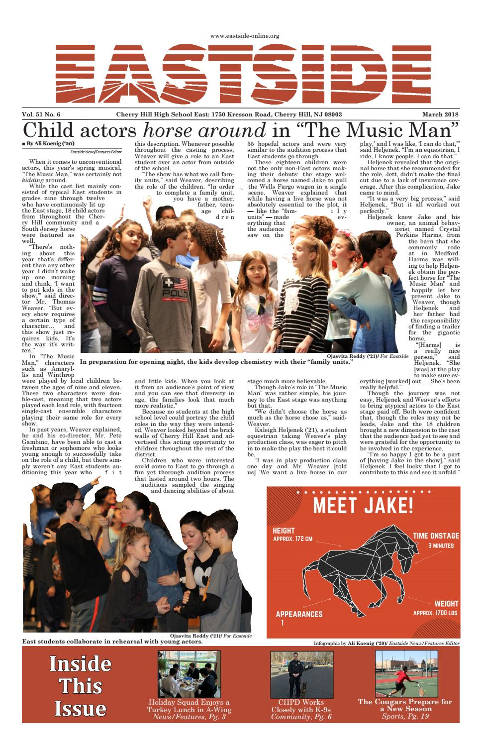 98ba28054d4 Eastside  March 2018 by Eastside Newspaper - issuu