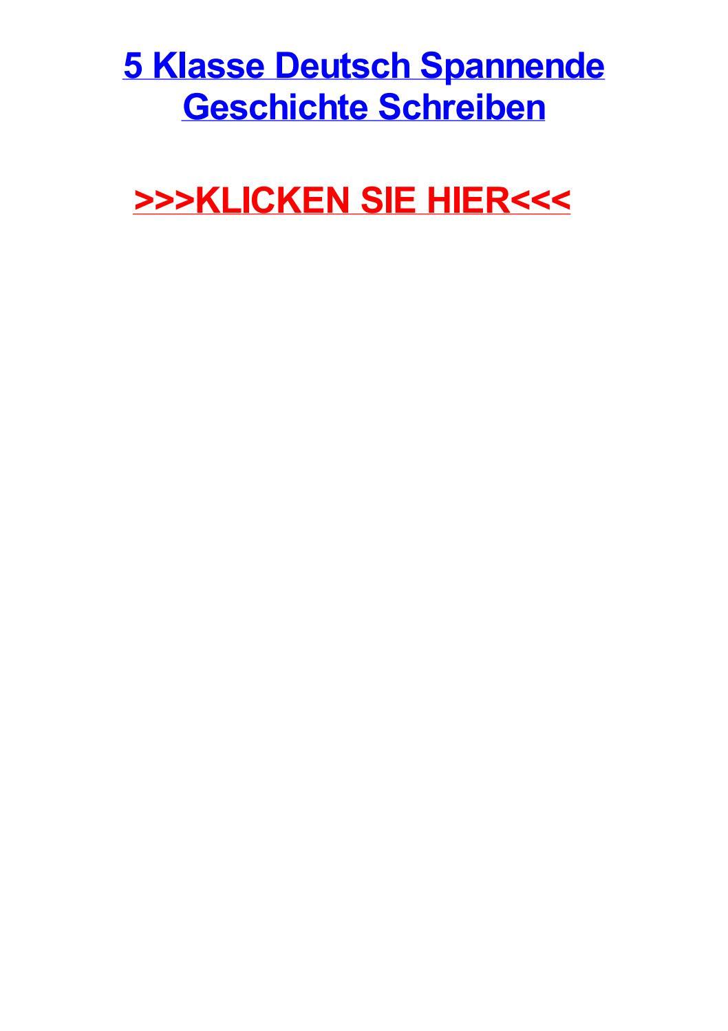 20 klasse deutsch spannende geschichte schreiben by kevinkbrqf   issuu