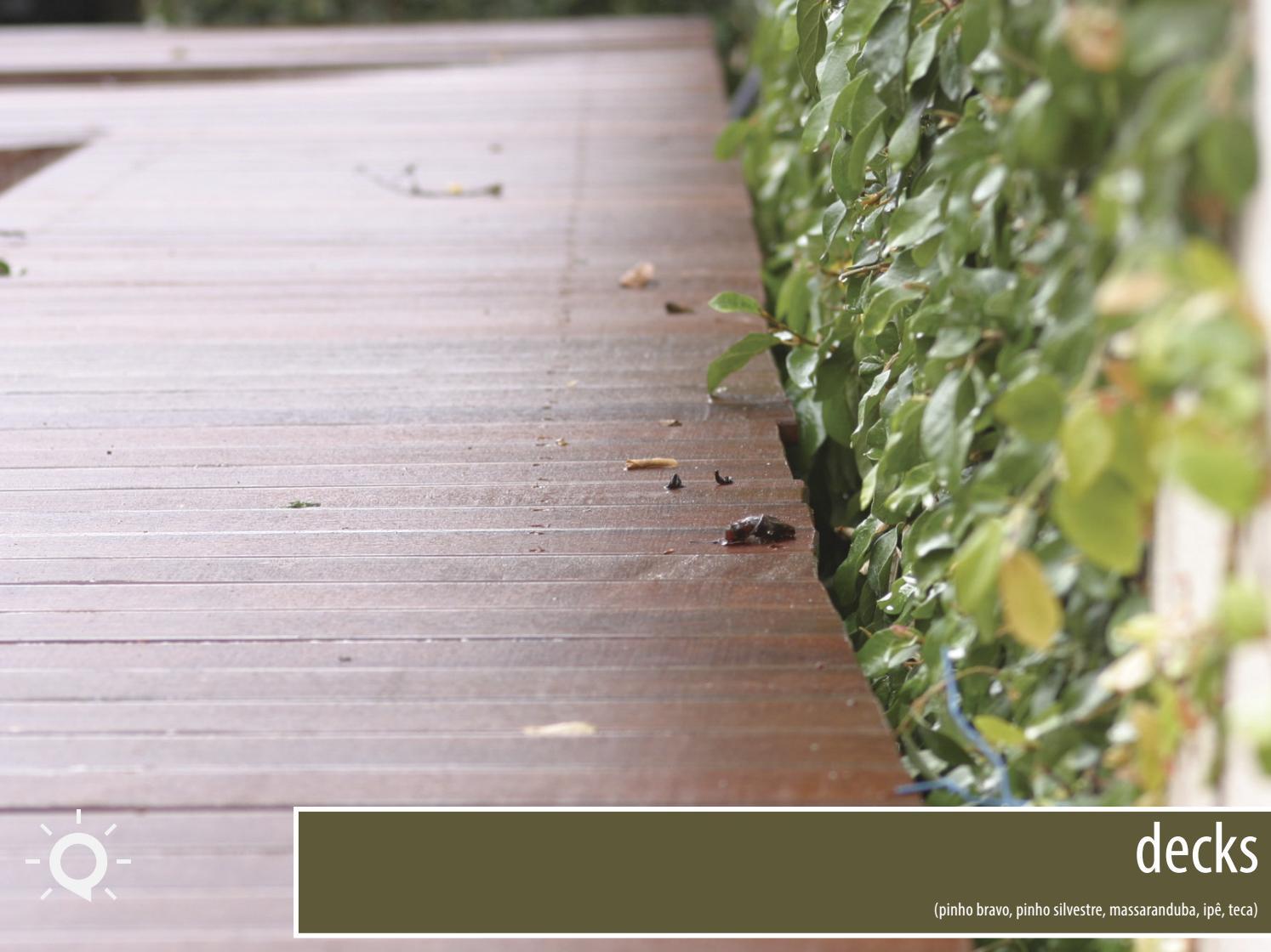 Decks de madeira