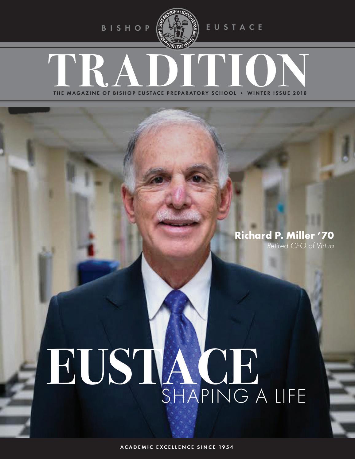 Tradition Magazine Winter 2018 by BishopEustacePrepSchool