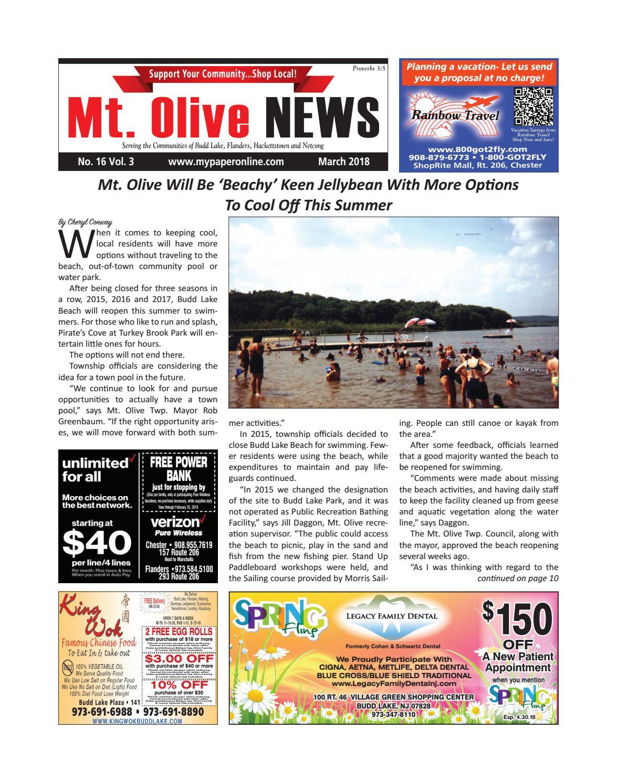 Mt olive march 2018 by My Life Publications  Maljon LLC - issuu