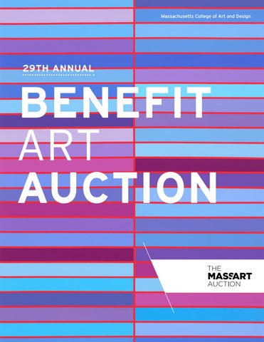 29th Annual Massart Auction Catalog By Massachusetts College Of Art
