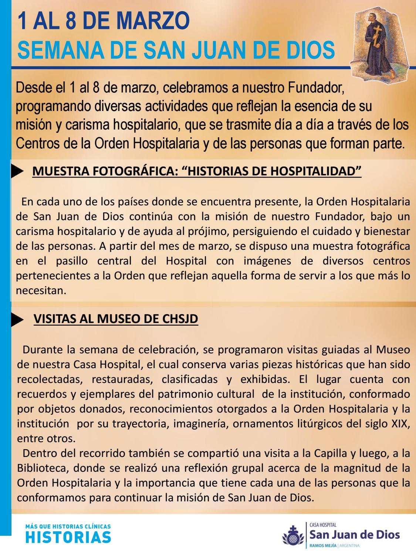 Resumen - Semana San Juan de Dios 2018 by CHSJD - issuu