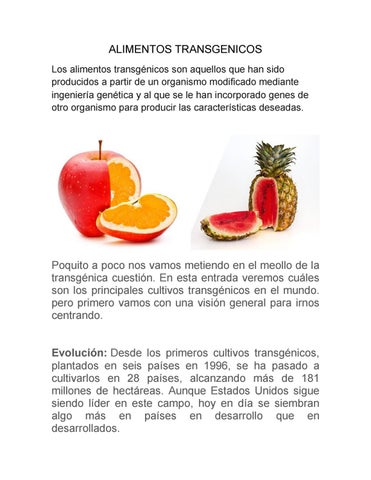 Greenpeace alimentos transgenicos pdf