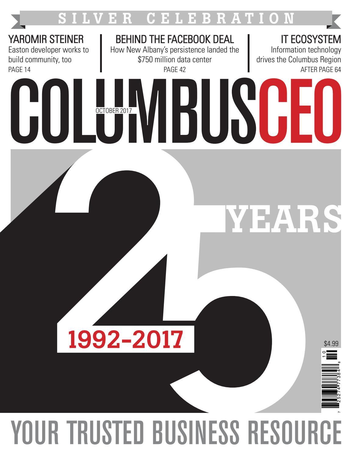 66c5125edc95c Columbus CEO - October 2017 by The Columbus Dispatch - issuu