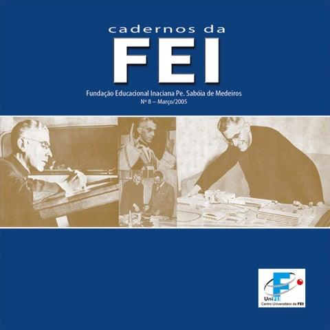 4d4b71bc942 Cadernos da FEI - Nº 08 by Centro Universitário FEI - issuu