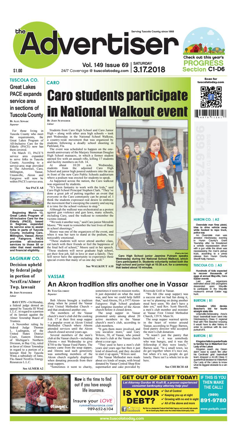 Tca 3 17 18 all pages by Tuscola County Advertiser - issuu