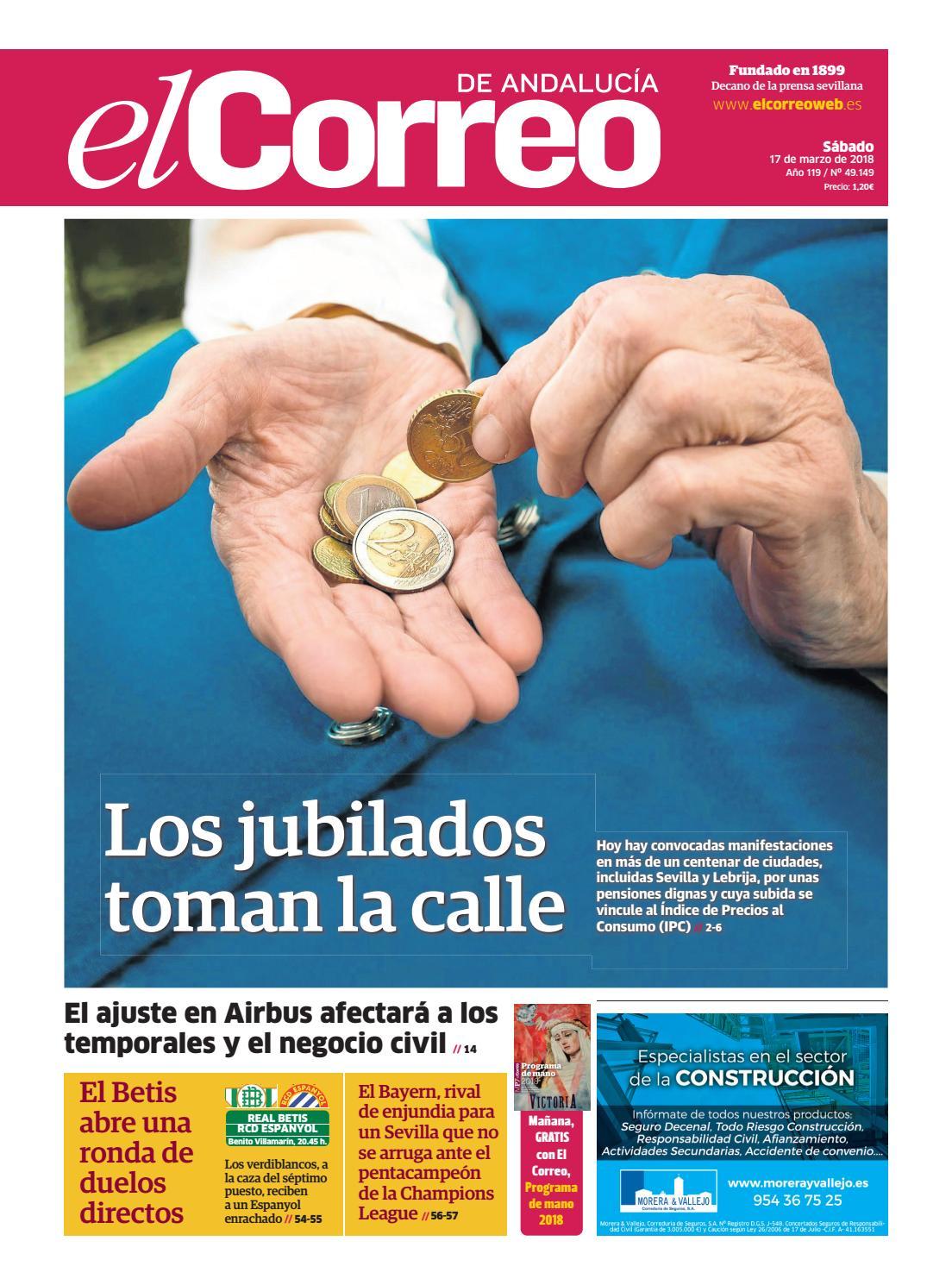 17.03.2018 El Correo de Andalucía by EL CORREO DE ANDALUCÍA S.L. - issuu f1830592b06
