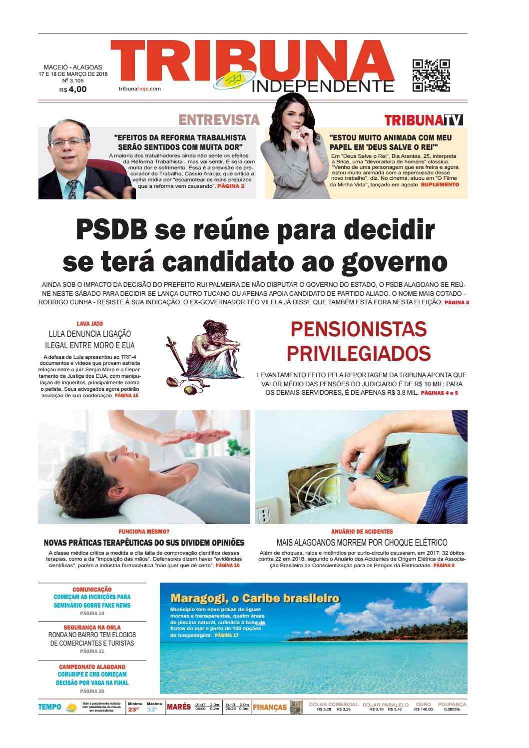 6d18c5db376 Edição número 3105 - 17 e 18 de março de 2018 by Tribuna Hoje - issuu