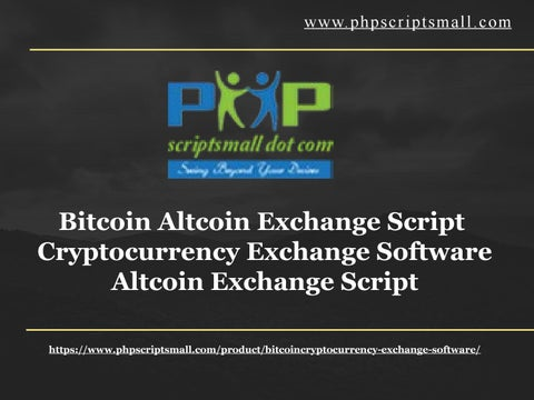 cryptocurrency exchange sofware