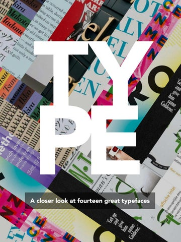 TYPE: A closer look by Natalie De Golia - issuu