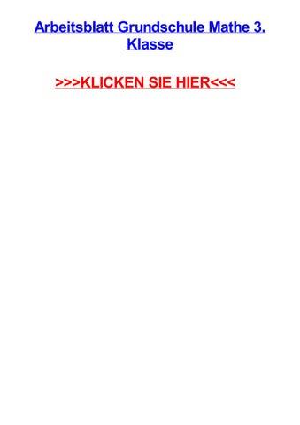 Arbeitsblatt grundschule mathe 3 klasse by chriscoshc - issuu