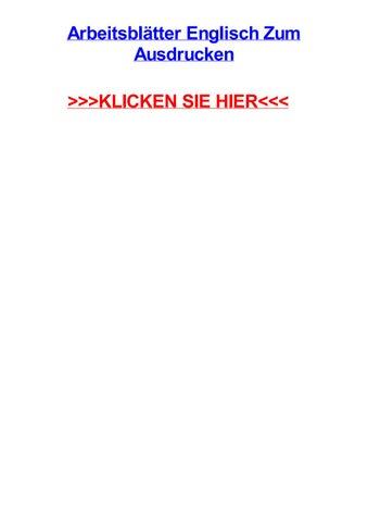 Arbeitsbltter englisch zum ausdrucken by michaelufgq - issuu