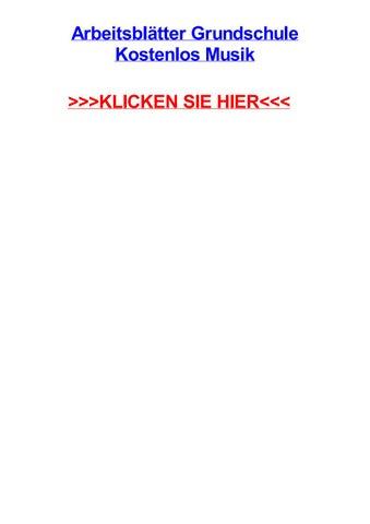 Arbeitsbltter grundschule kostenlos musik by dariusyncia - issuu