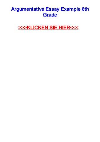 Argumentative Essay Example 6th Grade KLICKEN SIE HIER Weilheim An Der Teck Masterarbeit Hagen 7 Dinge Die Dir