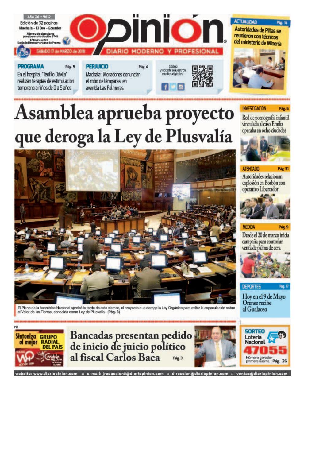 Impreso 17 03 18 by Diario Opinion - issuu c02e1d8d29f8