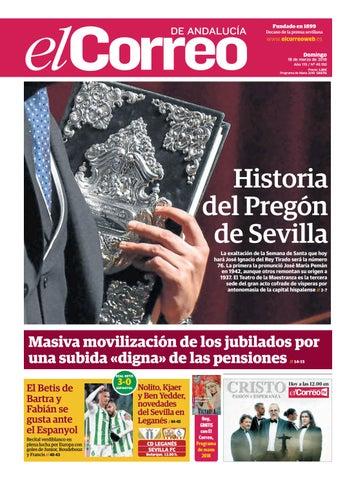 18.03.2018 El Correo de Andalucía by EL CORREO DE ANDALUCÍA S.L. - issuu 9b442965b6aef