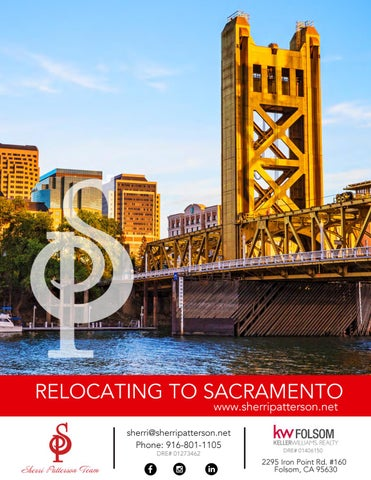 Relocation Guide To Sacramento The Sherri Patterson Team By The