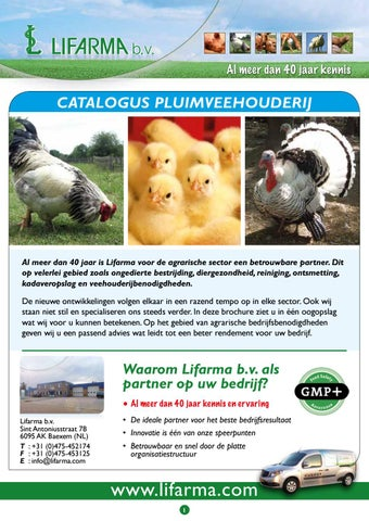ec29f3229af0b6 Lifarma, A4 folder Pluimvee feb. 2018 by Jeroen Stoker - issuu