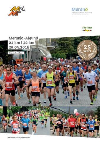 2018 Half Marathon Meran/o-Algund by Half Marathon Meran|o-Algund ...