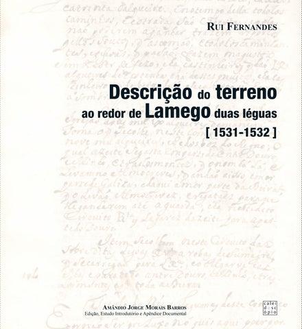 Descrição do terreno em redor de Lamego duas léguas by Museu de ... be4c0c2f433